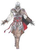 Ezio Auditore PNG - AC2 by Andrex91