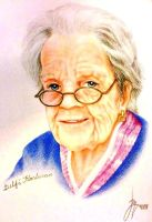 Old People Pencil Potraits by RoyLeandro