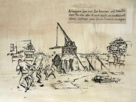 cayeux's water fight by croustipote