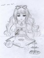 Tea with the demon by fantazyme
