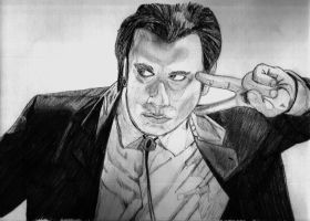 Vincent Vega, Pulp Fiction by dingobuzz269