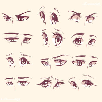 Eyes 2 by LiilDanica