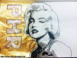 Marilyn monroe by Hollow-lifes