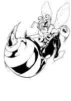 Darkstalkers BW: Q-bee by Peter-the-Tomato