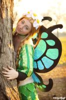 Into the sun - Mercedes from Odin Sphere by AishaCain