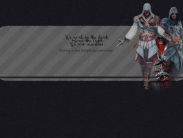 Ezio Auditore wallpaper by sundaymorning666
