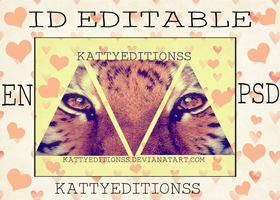 ID EDITABLE 3 by KattyEditionss
