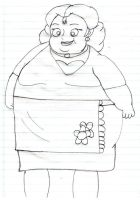 fat shirley rogers by chipmunk123