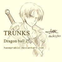 TRUNK - Dragon Ball by hase-illustration