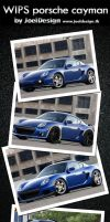 Porsche cayman Wips by Joel-Design