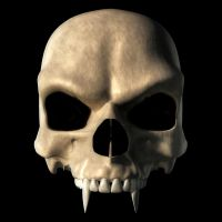 Vampire Skull by deskridge