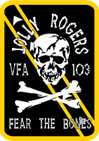 VFA-103 Jolly Rogers Squadron Insignia by viperaviator