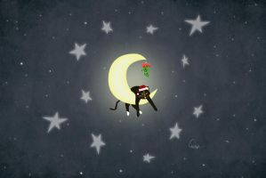 Muffin on the Moon - XMAS Edition by surlana
