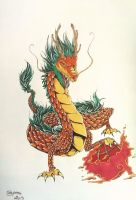 Dragon chinois by Thildou-chan