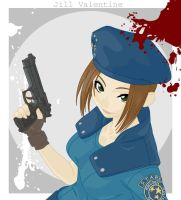 Jill Valentine by TheSpyWhoLuvedMe