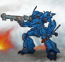 MS-18E Kampfer by MaiArtisticDrawings