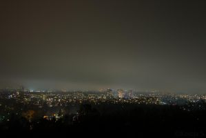 Berlin at night by kocy