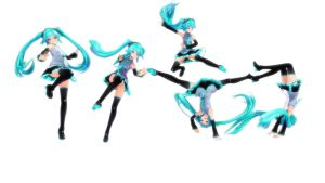 Pose pack 1 DL by MMDMikuMikuLen