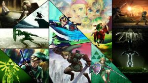 Zelda Collage by Dinocojv