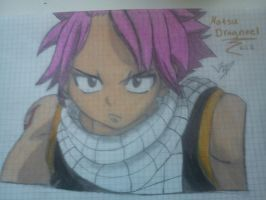 Natsu Dragneel finished by StarsMoonWolf-Lover