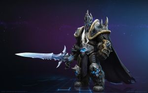 Arthas Menethil, the Lich King by Mr--Jack