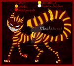 Chesh Refsheet 2014 by AFrozenHeart