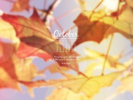 Desktop Wallpaper - October 2014 by MysticEmma