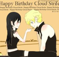 Happy Birthday Cloud! by bunnyaud-sama