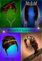 Beautiful hairstyles by DiZa-74