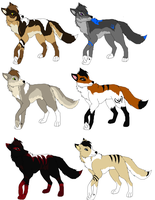 Adoptables Sheet by MonsoonWolf