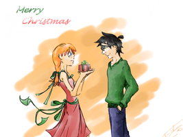 A very Ginny Christmas by Angelwingsy