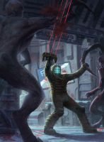 Dead Space Fanart by MCfrog