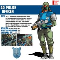 AD Police Officer|Bubblegum Crisis by Pino44io