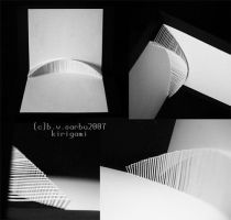 Architectural form-Kirigami by phoxic