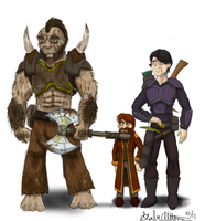 DnD Characters by Internet-Ninja