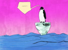 fucked penguin now in color by gzapata