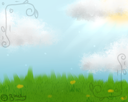 Summer Background by x-Blacky-x