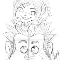 Vanellope and Ralph by nay-only