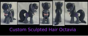 Custom Sculpted/Hard Hair Octavia by Gryphyn-Bloodheart