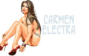 Carmen Electra Wallpaper II by madstoner
