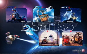 Wall E Packaged Icons by KSan23
