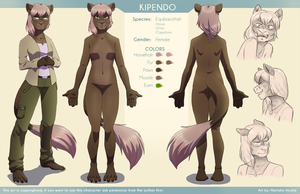 Pendo Ref sheet - commission by Gusana