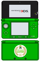 Nintendo 3DS - The Year Of Luigi Edition by TheWolfBunny