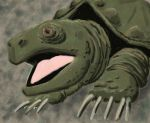 SketchThis Reptile - Snapper by CotangentFish