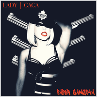 Lady GaGa - Paper Gangsta CD Cover by GaGanthony