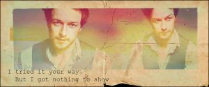 James McAvoy banner by LaLaShivers