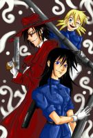 Cathryn,Alucard and Seras-REQ- by DaRknESs-FlAmE-FOX