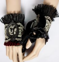 Rococo mittens II by Pinkabsinthe