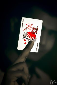 Life is a Game of Card and you r the JOKER by Koustubh-Dhar-Wrick