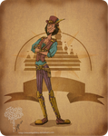 Disney steampunk: Clopin by MecaniqueFairy